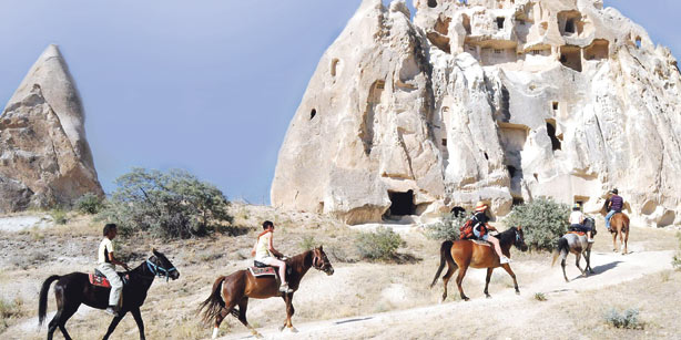 каппадокия конная прогулка