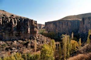 каппадокия каньон ыхлара